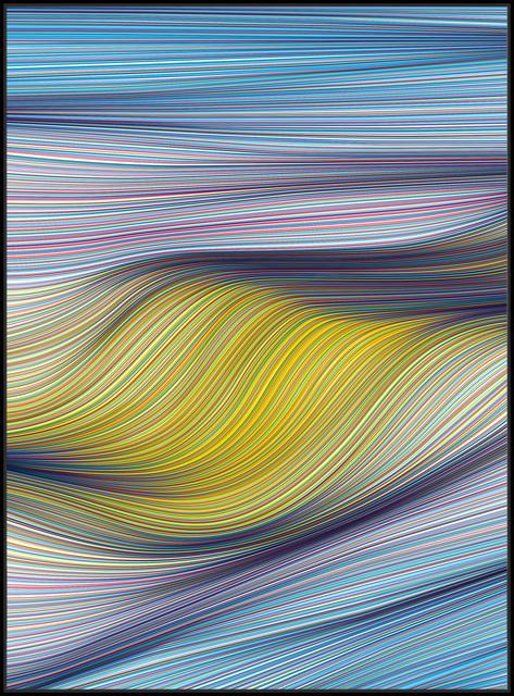 , 'Cloud Blend,' 2018, StolenSpace Gallery