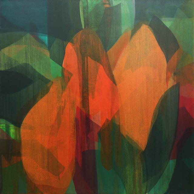 , '(Travelers) Orange Canna,' 2017, Spalding Nix Fine Art
