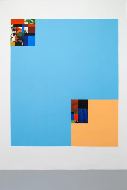 , 'Parrot color chart composit,' 2016, Umberto Di Marino