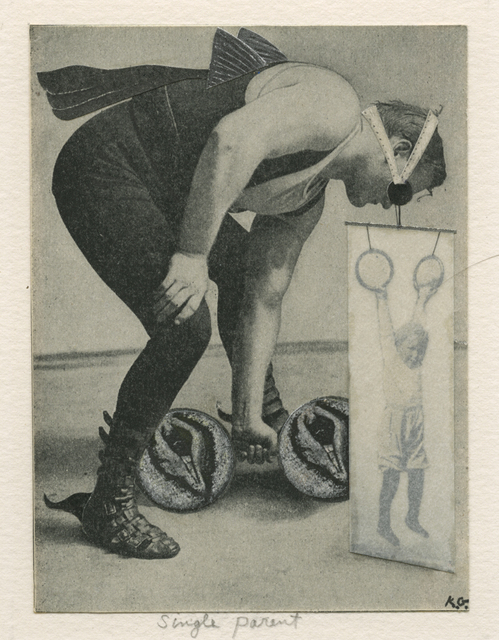 , 'single parent,' 1993, ROSEGALLERY