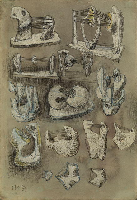 , 'Fourteen Ideas for Sculpture,' 1939, Osborne Samuel