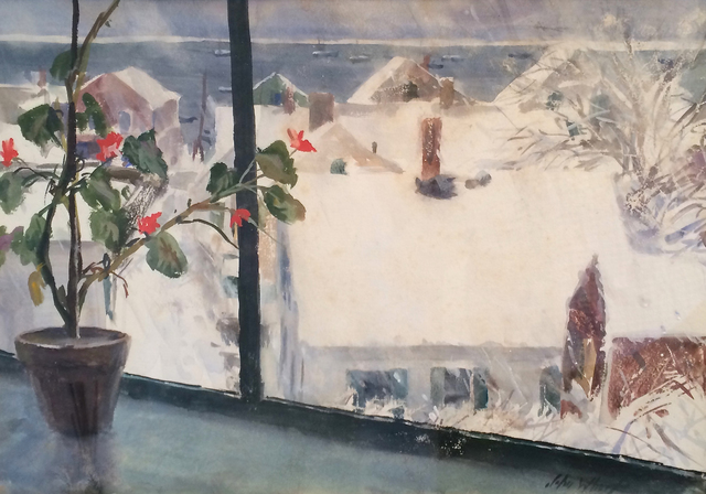 , 'Winter from my Studio - Provincetown,' , Caldwell Gallery Hudson