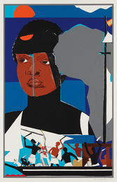 Romare Bearden, 'Slave Ship,' 1972, Phillips: Evening and Day Editions (October 2016)