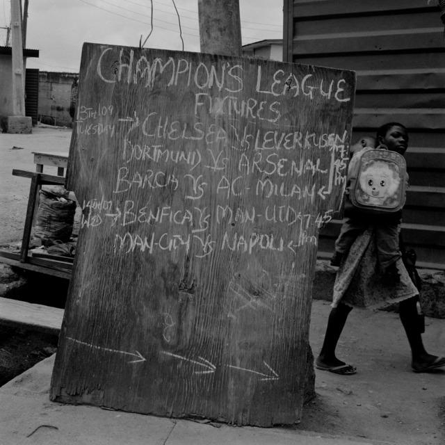 , 'Champions League,' 2011, Retro Africa