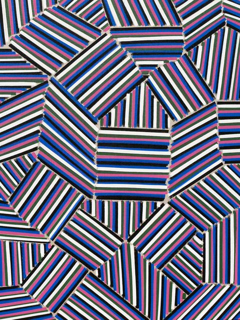 , 'Mondrian's Noose,' 2016, Newzones
