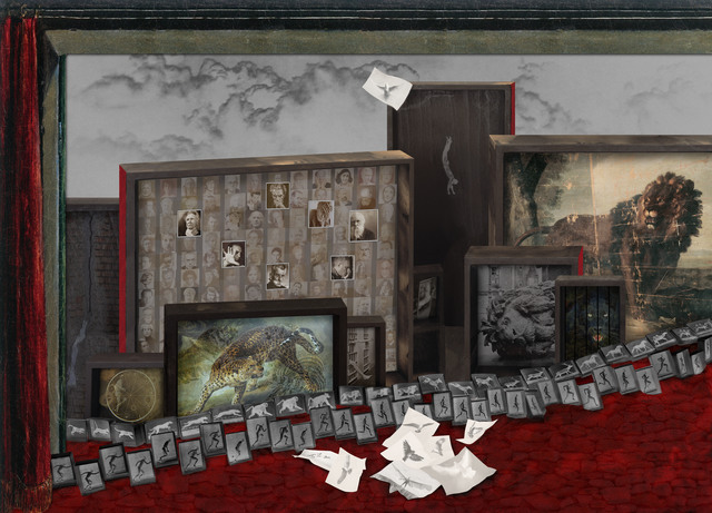 Anett Stuth, 'Gefangenschaft und Freiheit', 2012, Galerie Kleindienst