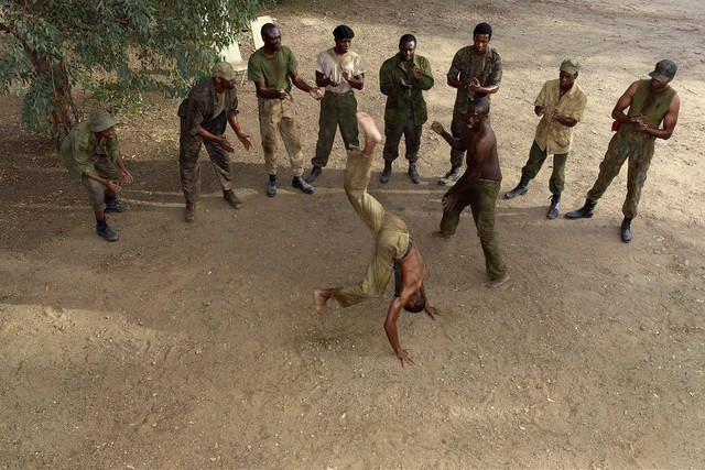 , 'Capoeira, 1974,' 2012, Goodman Gallery
