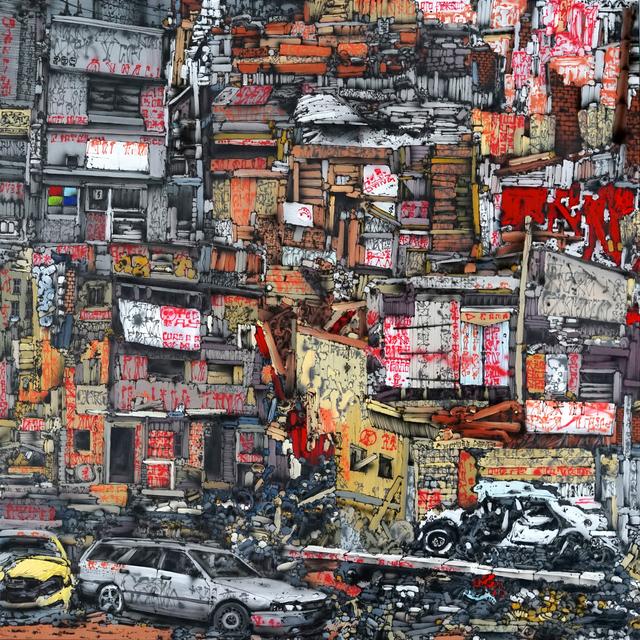 , 'Code of the Street,' 2019, Urban Spree Galerie