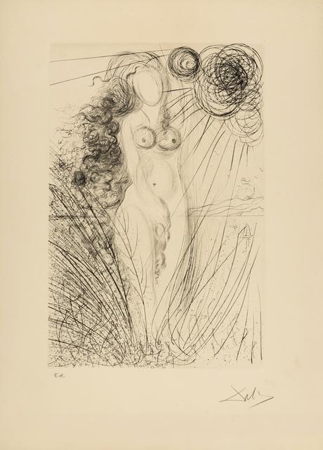 Salvador Dalí, 'Birth of Venus (M & L 492; Field 71-8A)', 1970, Print, Etching, Forum Auctions
