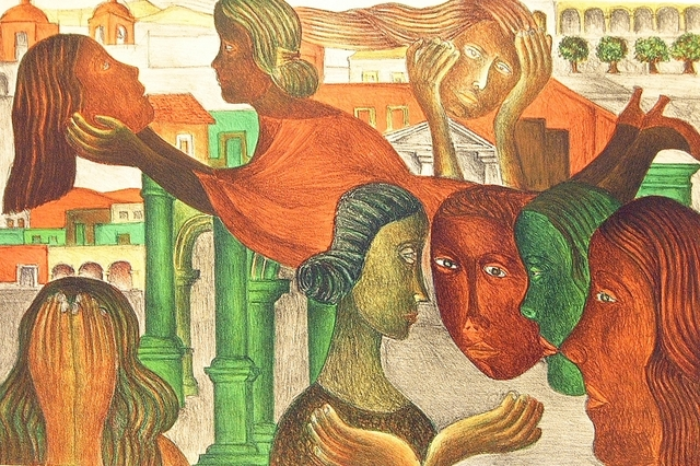 Rodolfo Morales, 'Mi corazon se asoma a la vida', 1998, La Mano Magica