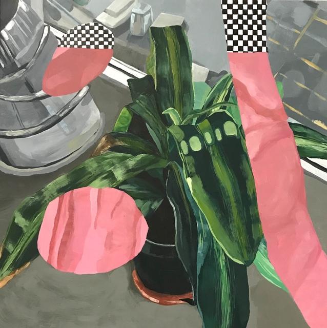 , 'Fleshy plant,' 2019, J. Yuan & Associates