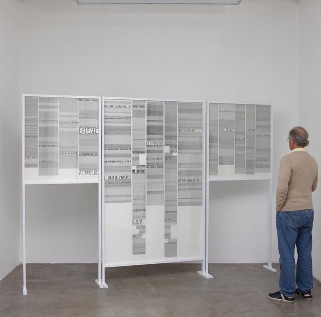 , 'Porque deberiamos hablarle al hombre cosas que no entiende,' 2012, Dot Fiftyone Gallery