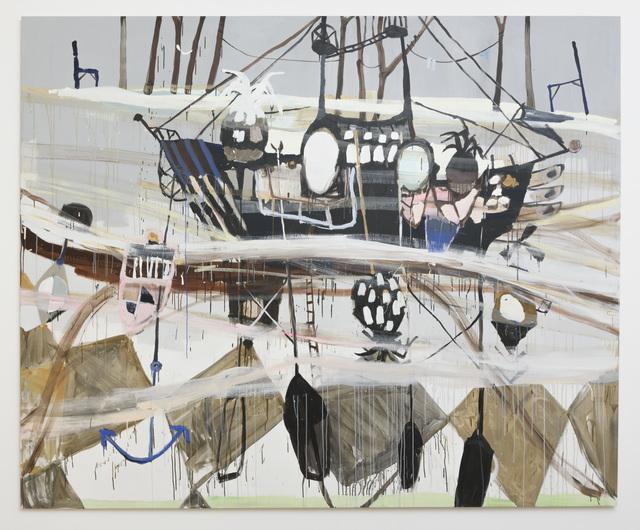 , 'Floor-Ship-Island,' 2016, Samuel Freeman
