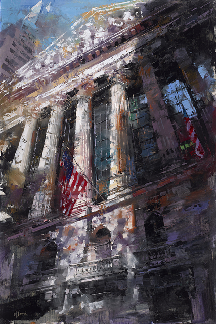 , 'NYSE From Below,' 2018, Rehs Contemporary Galleries