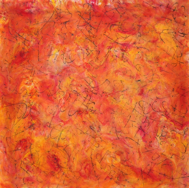 , 'Orange Turmoil,' , InLiquid