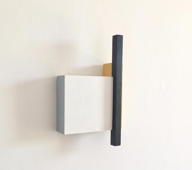 , 'Estructura 2 (Blanco),' 2018, Galería La Caja Negra