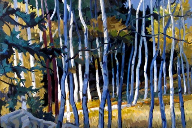 Philip Koch, 'White Thicket', 2015, Edward Hopper House