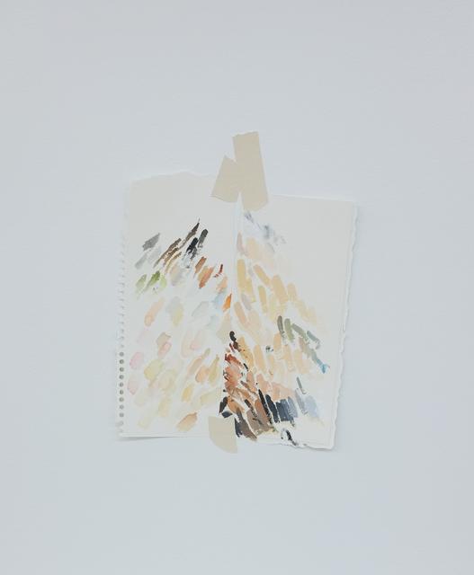 , 'Autorretrato como teste de cores (duplo),' 2018, Espacio Mínimo