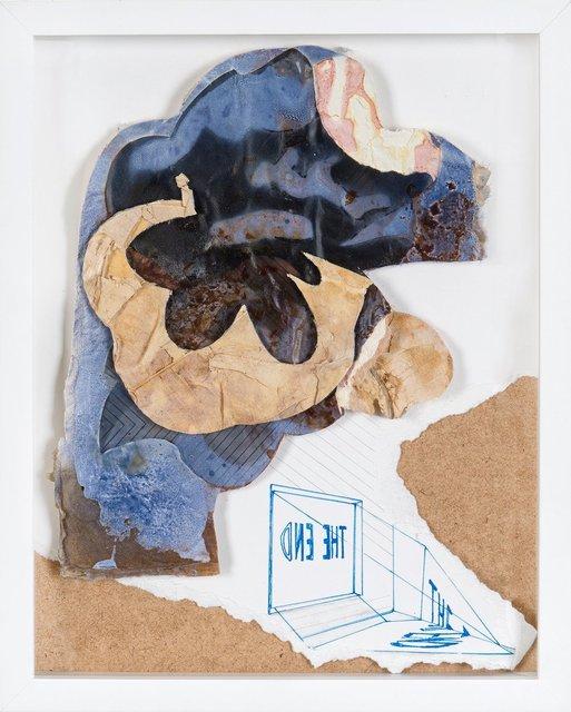 , 'Verkehrtes Ende,' 2017, Galerie Kornfeld