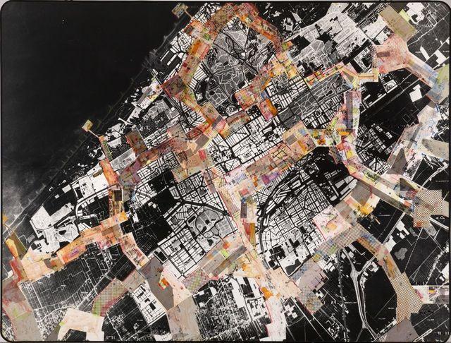 , 'Grundriss New Babylon über The Hague,' 1966, Borzo Gallery