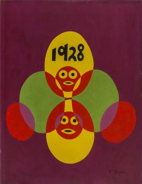 Fortunato Depero, 'Pupazzi', 1928, ArtRite