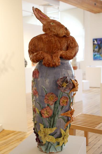 , 'Rabbit in Flower Garden,' 2010, Carter Burden Gallery