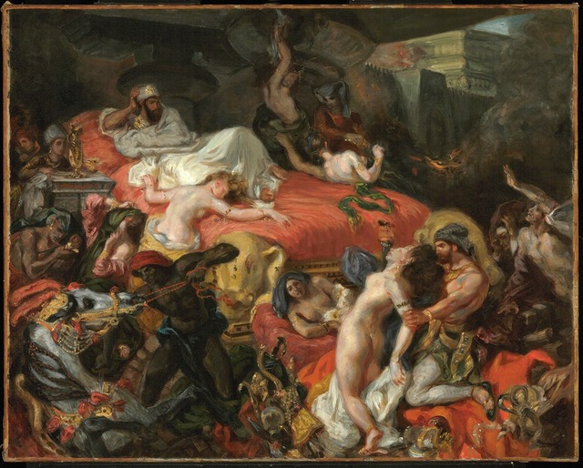 , 'The Death of Sardanapalus (reduced replica),' 1846, The National Gallery, London