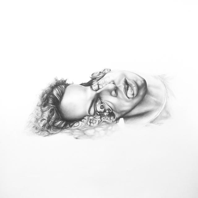, 'Autorretrato de cabeza aplastada ,' 2012-2015, PIEDRAS