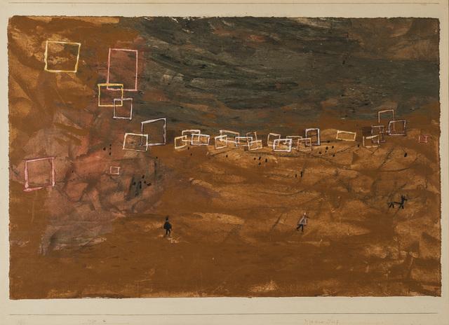 , 'Desert Village,' 1930, Galerie Thomas