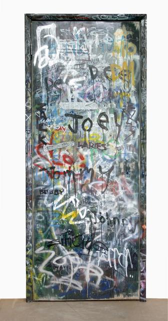 , 'Door (CBGBs version),' 2013, David Risley Gallery