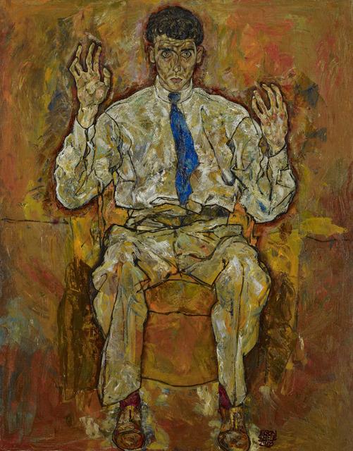 , 'Portrait of Albert Paris von Gütersloh,' 1918, The National Gallery, London