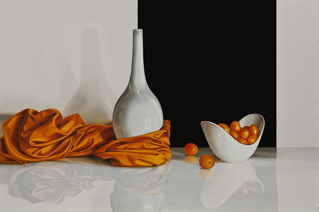 , 'Orange Corner,' 2015, Plus One Gallery