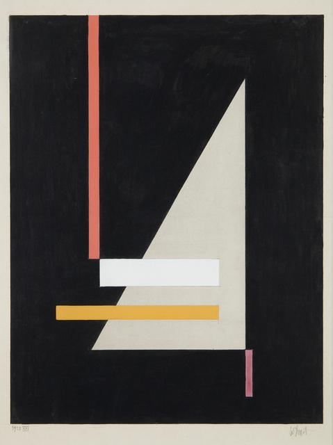 , 'Mit grauem spitzen Dreieck XXI,' 1923, Galerie Le Minotaure