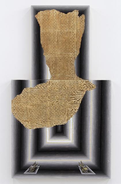 , 'Broken Pattern (Exposed Wall),' 2014, Hosfelt Gallery