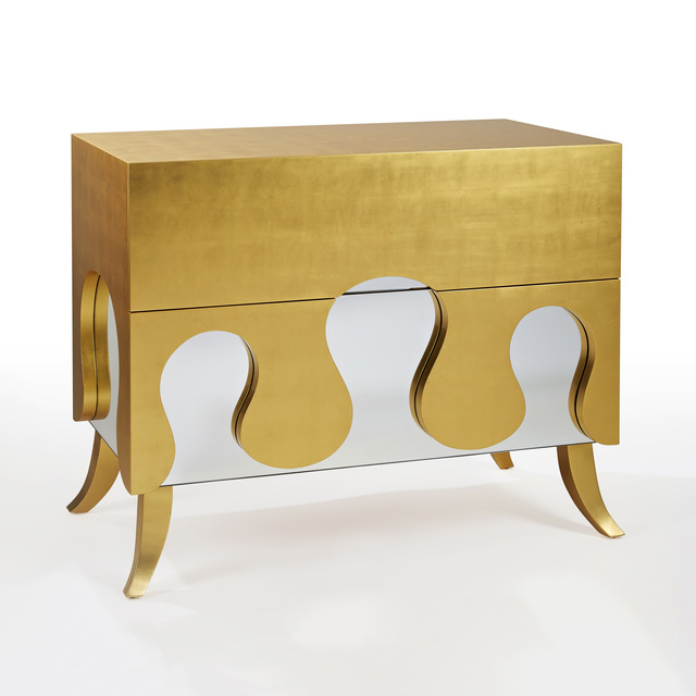 Hubert Le Gall, 'Azur Gold Commode', 2005, Twenty First Gallery