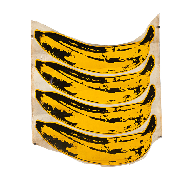 Andy Warhol, 'Banana Stickers (The Velvet Underground & Nico)', 1967, Other, Set of 4 unpeeled stickers, Rago/Wright