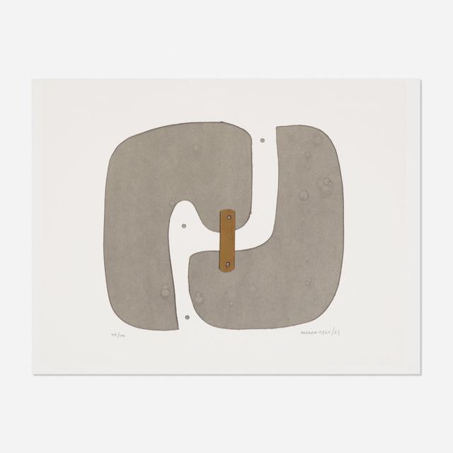 Conrad Marca-Relli, 'Untitled', 1969, Wright