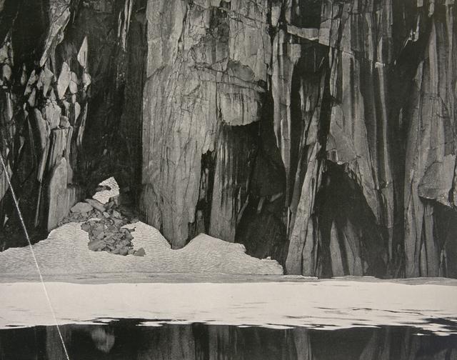 Ansel Adams, 'Lakes and Cliffs, Kaweah Gap', 1939, White Cross
