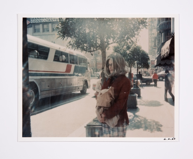 , 'Roberta at Bus Stop,' 1978, Bridget Donahue