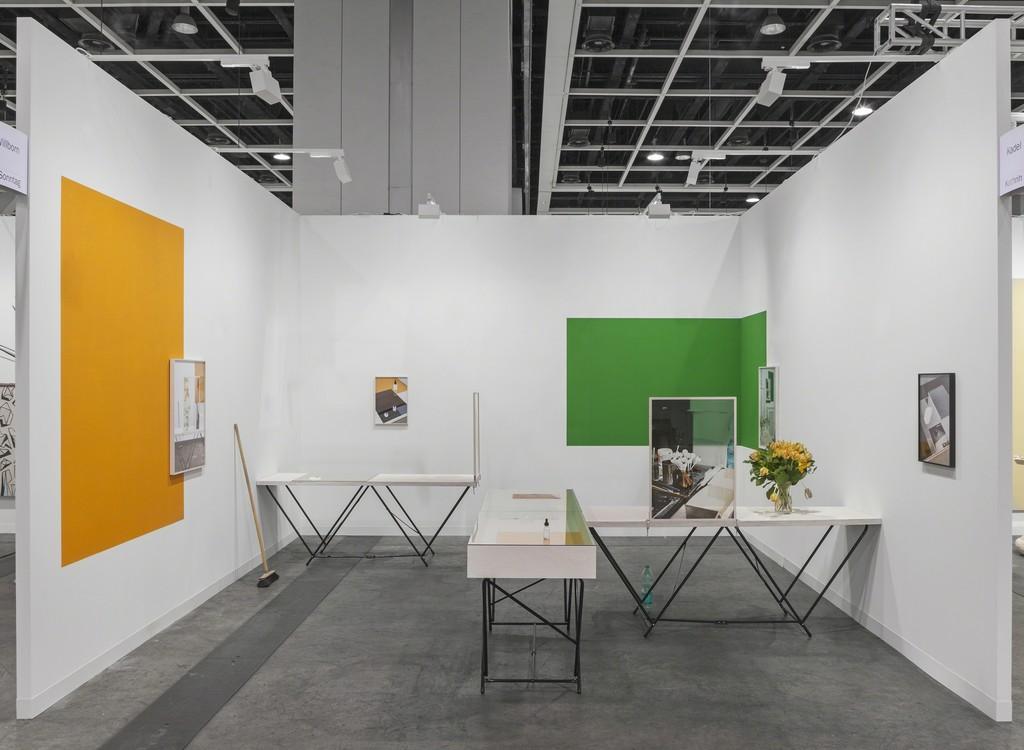 "installation view ""I see you seeing me see you, 2014-2016"", Art Basel Hong Kong"