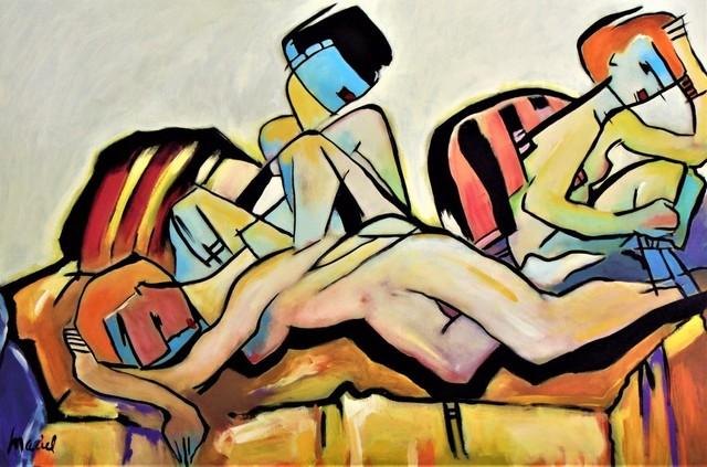 Nora Maciel, 'El Descanso', Painting, Acrylic, Galleria Dante