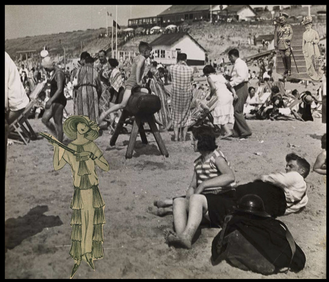 , 'The Kaiser on Zandvoort Beach,' 1930-1932, Corkin Gallery