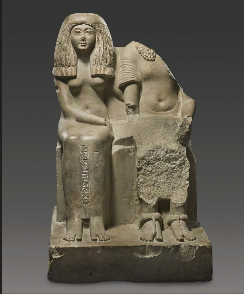 Baket-Mut (Songstress of Amun) and her Husband, Egypt