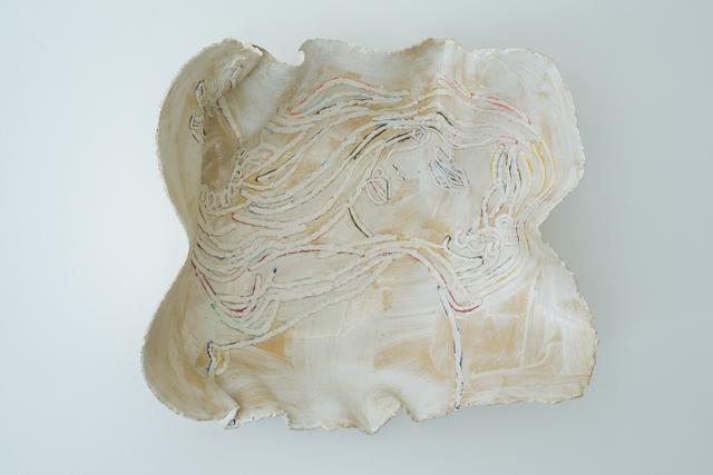 Ghada Amer, 'The White Plate', 2017, Sculpture, Glazed ceramic, Goodman Gallery