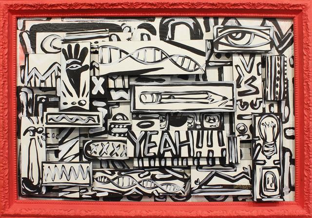 , 'YEAH!!!,' 2017, Art Attack SF