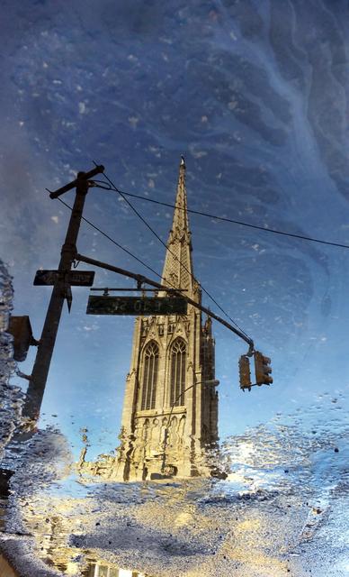 Richard Oszust, 'Grace Church Reflected', March 2017, MvVO ART