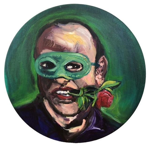 Yassine Balbzioui, 'La Rose Rouge', 2019, Painting, Acrylic on canvas, Kristin Hjellegjerde Gallery
