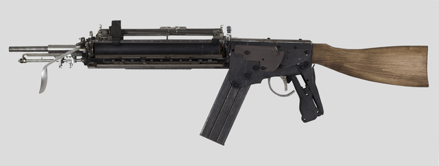 , 'MIGHTIER THAN--WOODSTOCK ASSAULT RIFLE,' 2017, MAIA Contemporary