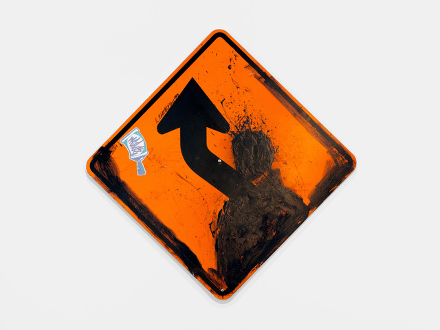 , 'Orange Metal Sign,' 1999, Chase Contemporary