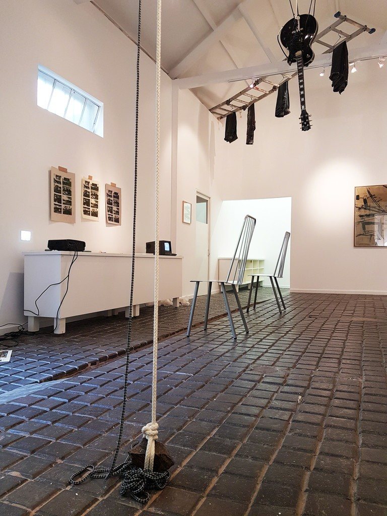 Installation view of DOLCEFARNIENTE at David Krut Projects Cape Town.